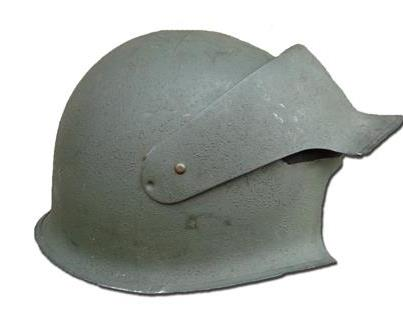 WWII U.S. Photographers helmet  - a very different lid!