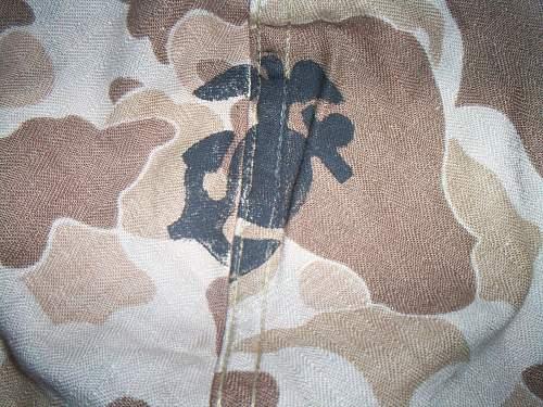Ww2 ega usmc first pattern cover!!!!
