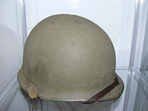 WW2 or post war Helmet?