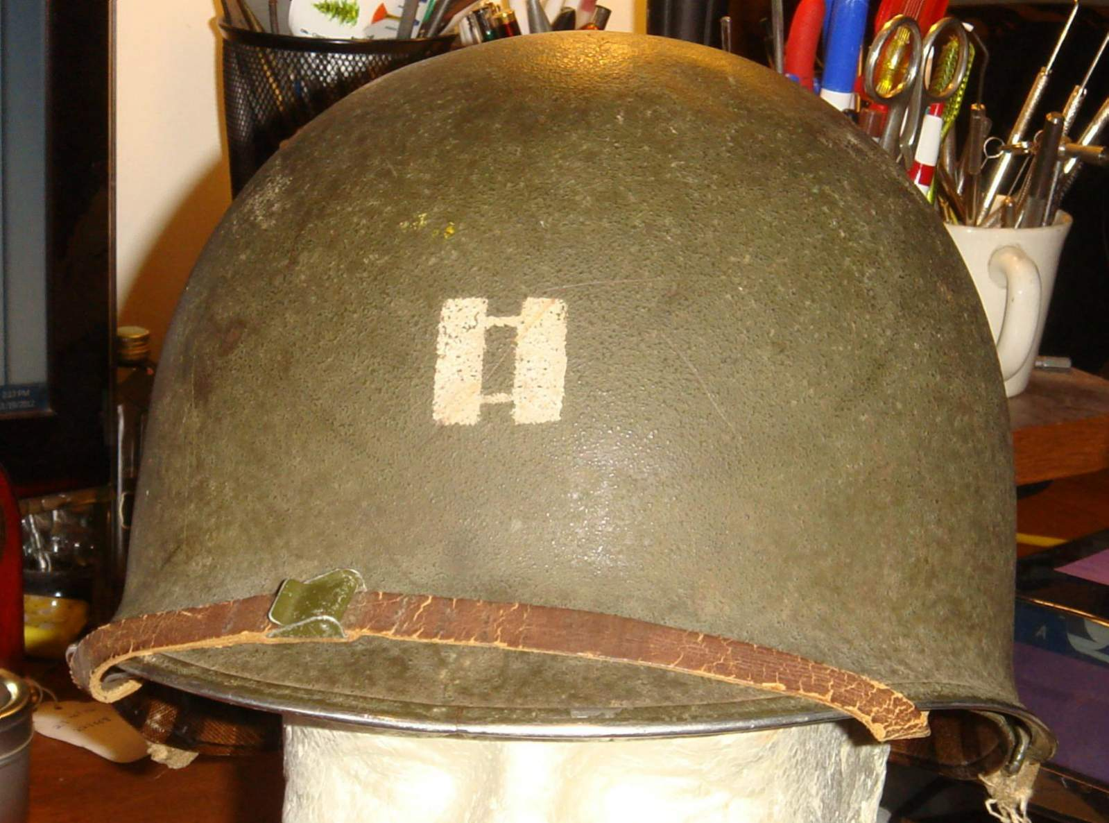Need Help Thoughts Of M1 Fixed Bail Helmet With Captain Bars