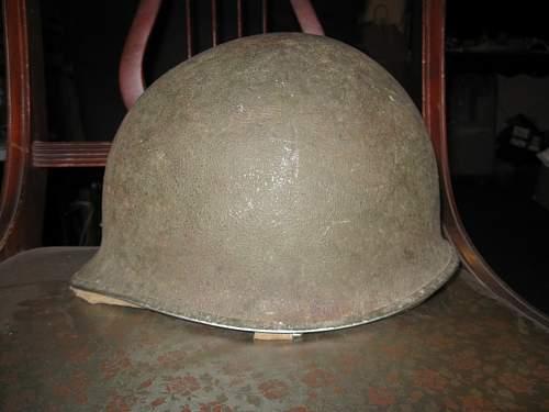Ww2 m1 fixed bail helmet help?