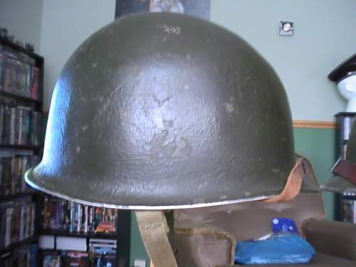 M1 helmet Question