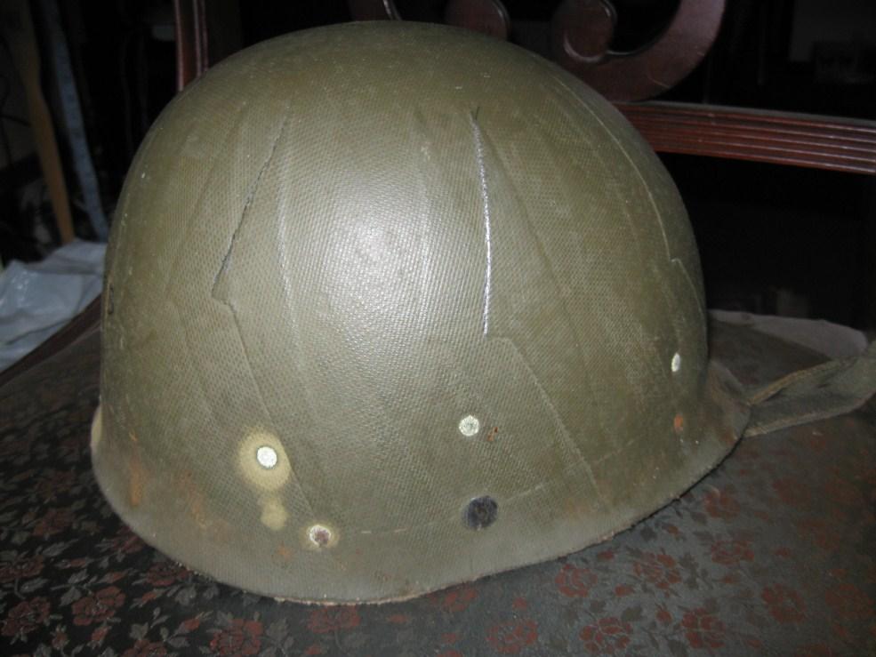 M1 Helmet And Liner Identification