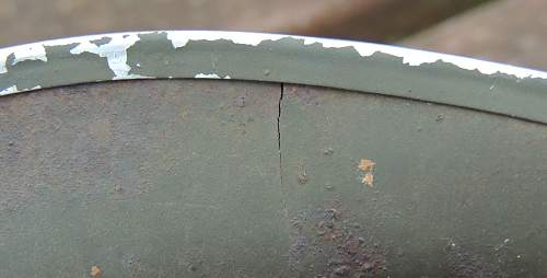Early Fixed Bale M1 Hood Rubber Liner