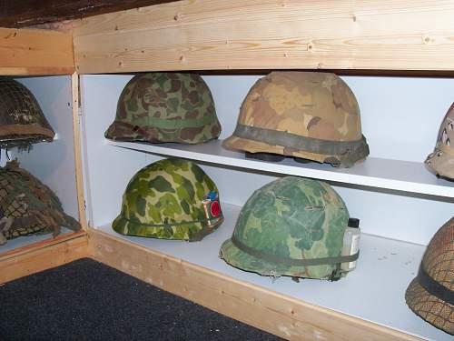 USMC helmet cover/veil