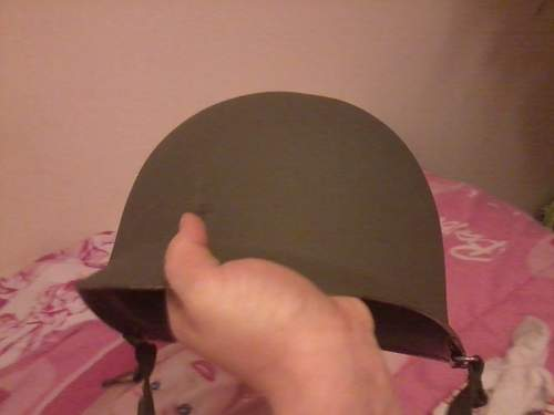 M1 Helmet Wierd Liner