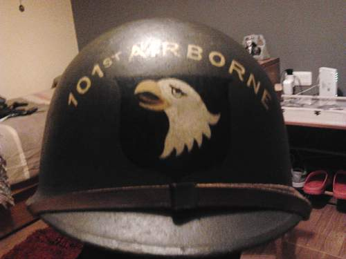 M1 helmet It's real?