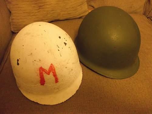 What is this M1 helmet