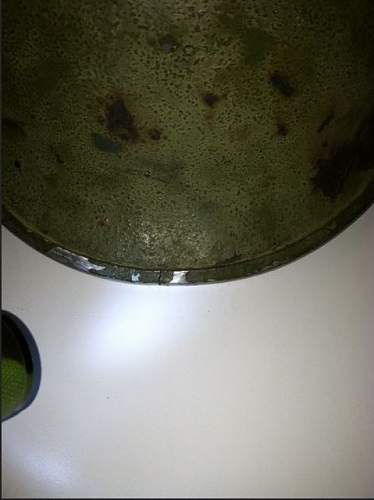 Rusty M1 pot?