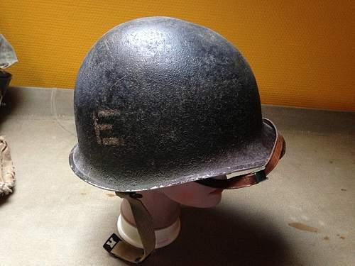 326th Engineer Battalion Helmet