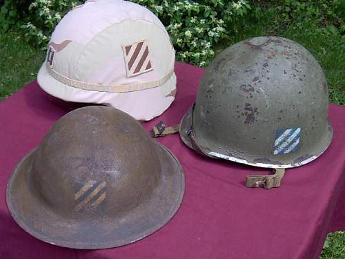 A Few US Helmets From The New Guy