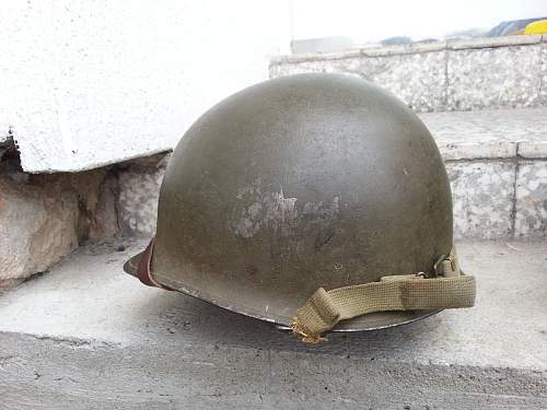 My US M1 WWII front seam,swivel bale.. Finally in my collection!!!!