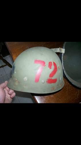 Original Navy M1 with rank?