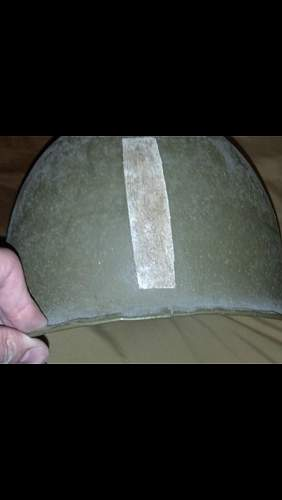 Real US M1 Helmet with real Captain Emblem and Unit Rank?