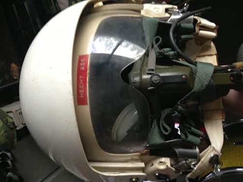 Vietnam Era named HGU-26 Helmet, Opinions?