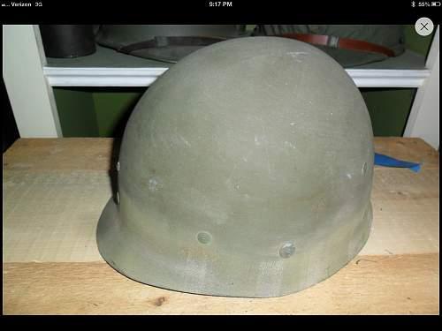 m1 helmet liner ?HOW EARLY?