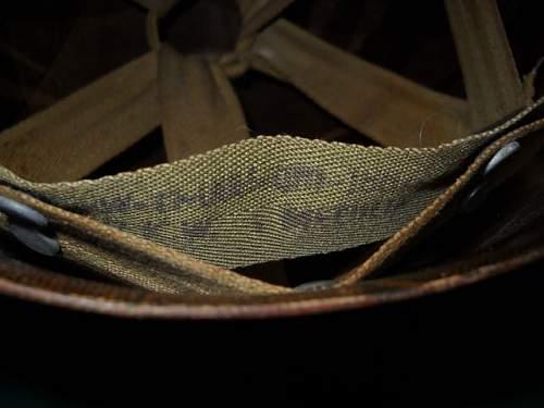 M1 Schlueter WWII helmet