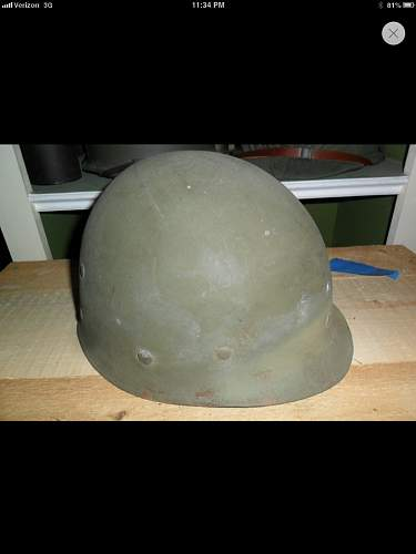 Rarity of M1 helmets and liners.