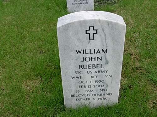 Vietnam M1C of SSG William John Ruebel 505th