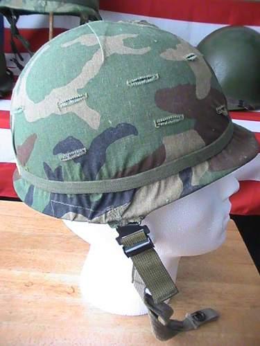 2x M-1 helmets from job lot