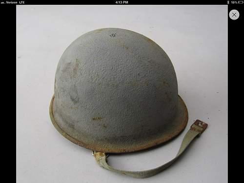 navy m1 helmet
