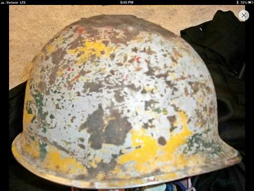 Colorful m1 helmet