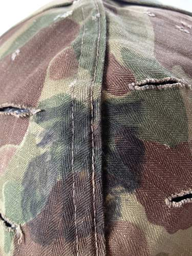 Newest Camo Cover - 1953 Blue Anchor and Possible Former USN Shell?