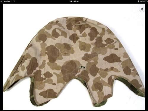 usmc helmet cover