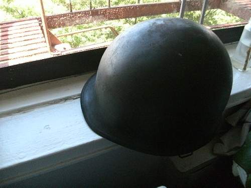 M1 helmet question.