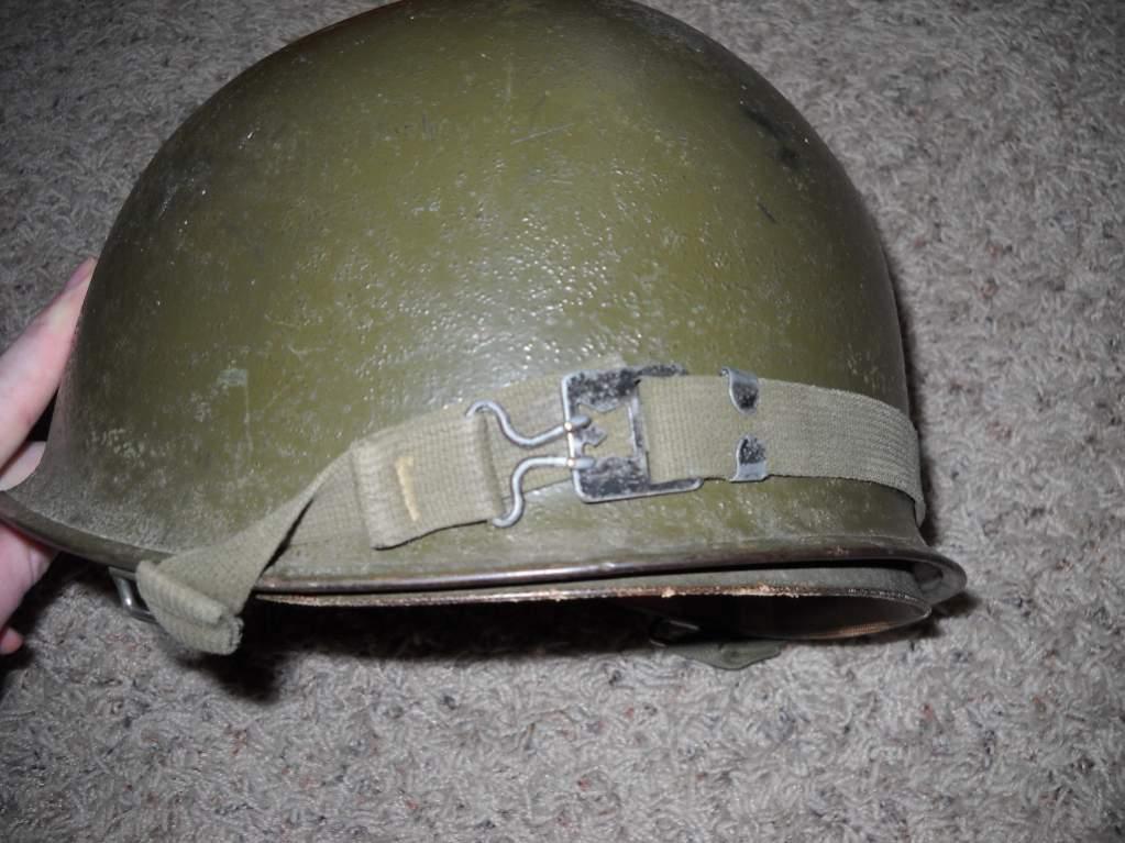 Vintage US Military M1 Steel Helmet