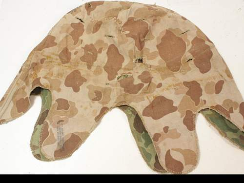 my korean war helmet cover