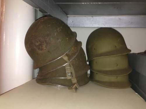 Unique m1 navy helmet conversation