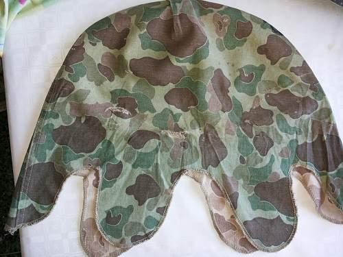 US M1  helmet with USMC cover