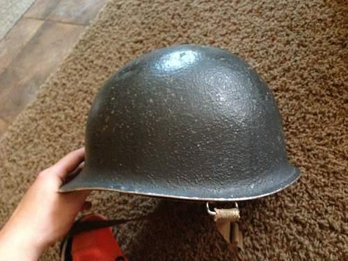 Navy Lt helmet has arrived
