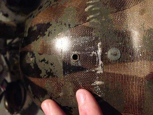 How to remove paint from helmet?