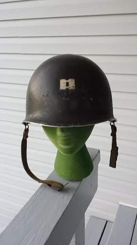 WWII/Korean Era Captains Helmet