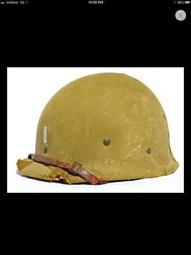 Lieutenant m1 helmet pot to marry with liner