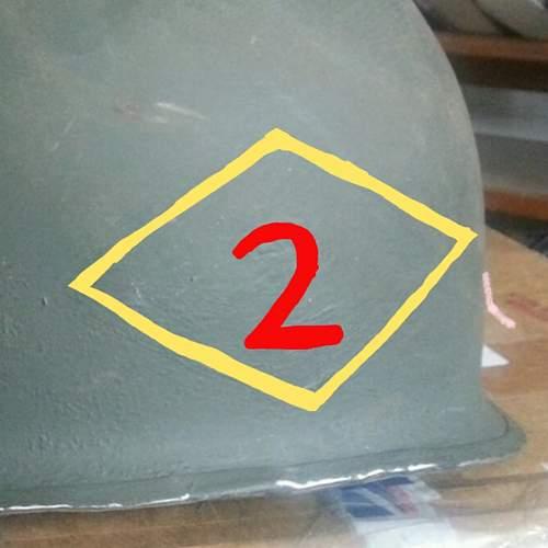 possible hidden insignia under repaint