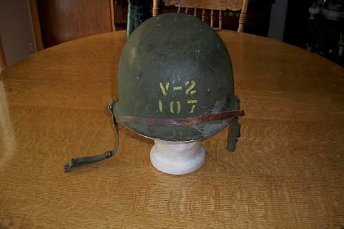 301A  US M1 helmet