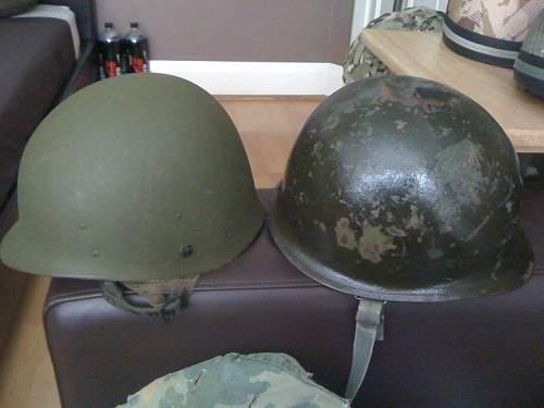 Vietnam M1C helmet
