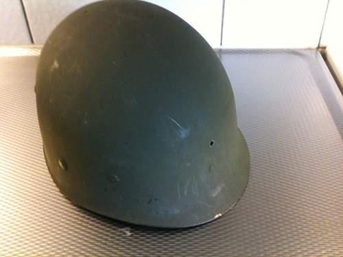 M1 - Swiwel Bale, back seam shell. MSA liner