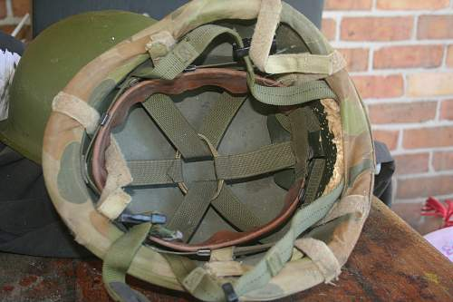can you please help with aussie issue M1 helmet ?