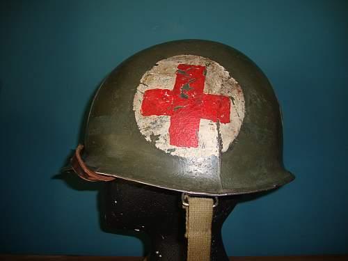 M1 Medic helmet