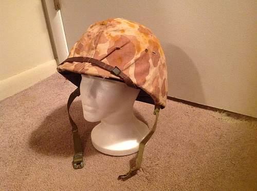 ww2 usmc helmet without ega