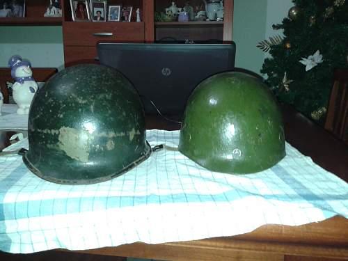 American wwII original helmet?