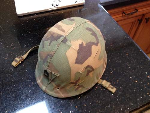 Front Seam M1 with Camo Cover