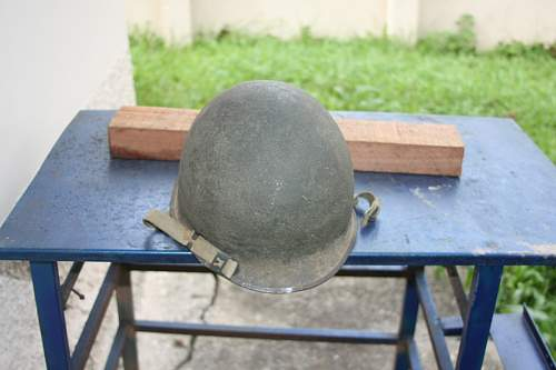 This is a ww2 helmet?internal number:1074 A