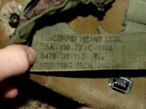 Dating M1 shell and liner - bizarre liner alterations.