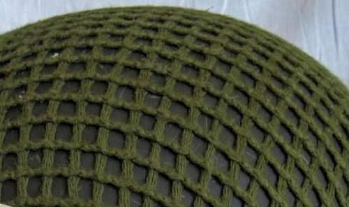 Is this an old US helmet net?