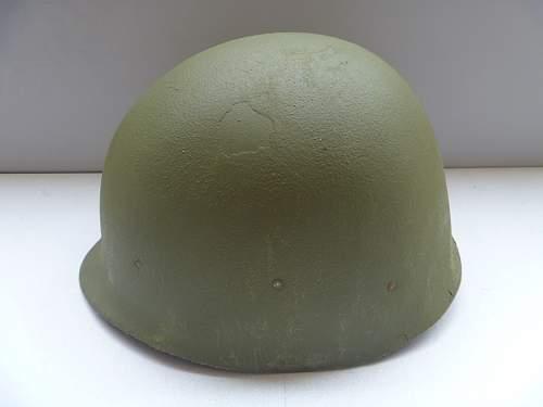 My Vietnam era US M1 helmet (pic heavy)